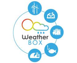 weather box data diffusion graph