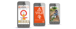 Cellphone weather app alerts for farmers
